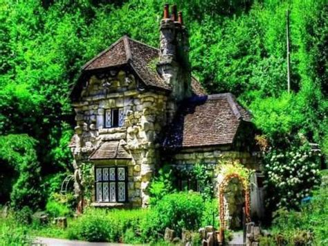 Small Stone Cottage English Stone Cottage, small cottages