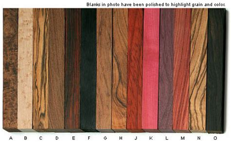 figured exotic wood blanks lee valley tools