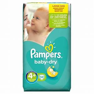 Pack 56 Couches Pampers Baby Dry Couches Pampers