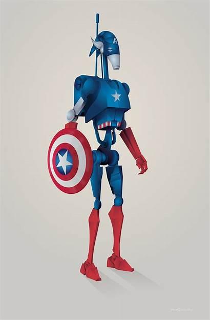 Roger Steve Rogers Captain Starwars Behance