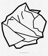 Coloring Crumpled Pikpng Clipart sketch template