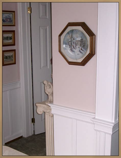 Custom Wainscoting by Painted Wainscoting Custom Moulding Ottawa Whitby