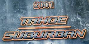 Buy 01 2001 Chevrolet Tahoe    Suburban Owners Manual