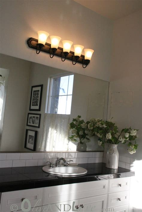 Light Fixture For Bathroom by Olive And Spray Painting Bathroom Light Fixture