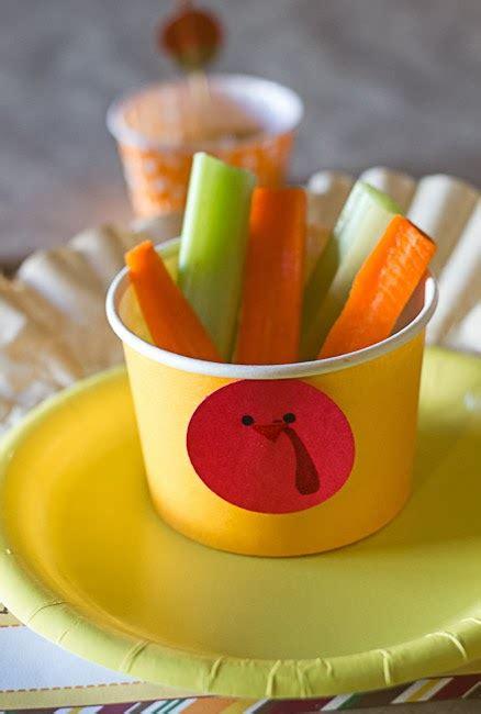 differentact normal  turkey veggie cups  kids