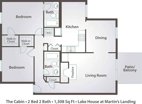 two floor plans house floor plans two bedroom house or apartment