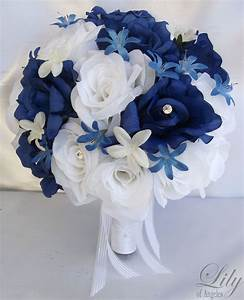 17pcs Wedding Bridal Bride Bouquet Flowers Decorations ...