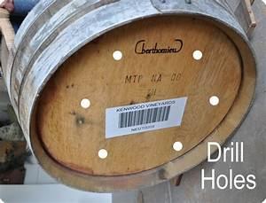 Holz Löcher Füllen : holz pflanzk bel aus altem weinfass selber bauen bildanleitung ~ Watch28wear.com Haus und Dekorationen