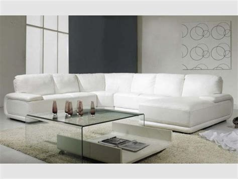 canap angle cuir blanc photos canapé d 39 angle cuir blanc italien