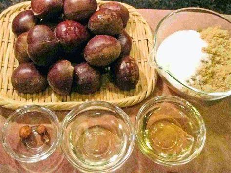 Recipes for Tom: Kuri no kanroni / candied chestnuts
