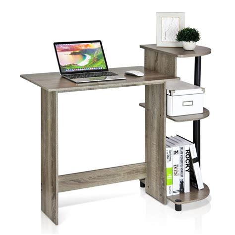 home depot computer desk furinno compact french oak grey computer desk 11181gyw bk