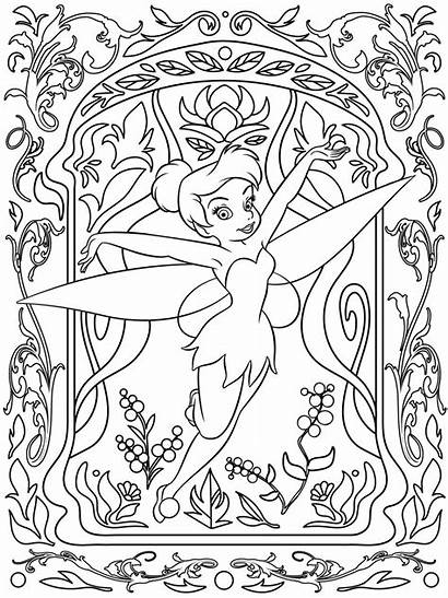 Disney Coloring Pages Detailed Getdrawings