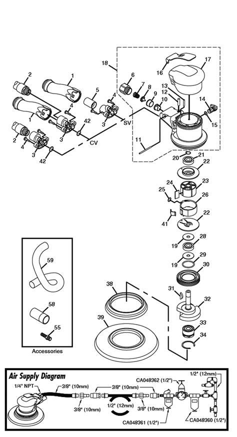 Chicago Pneumatic CP7250E Parts List   Chicago Pneumatic