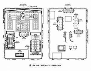 Hyundai Santa Fe  Relay Box  Passenger Compartment   Components And Components Location
