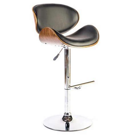chaise haute de bureau chaise haute design avec dossier en bois pour mange debout