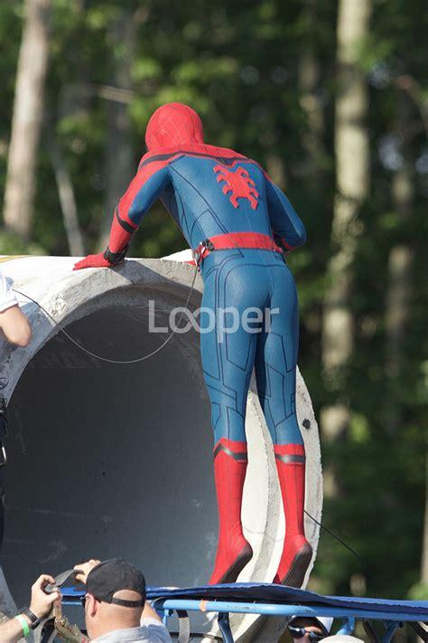 spider man homecoming   scenes pics