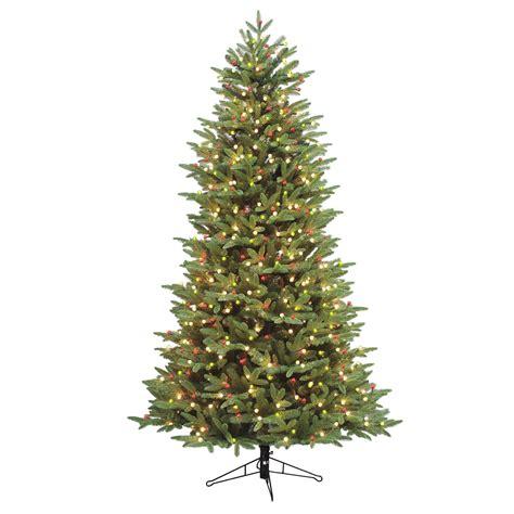 general electric  pre lit  cut alaskan fir tree