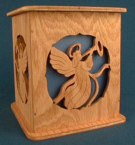 angel tissue box cover pattern scrollsawcom