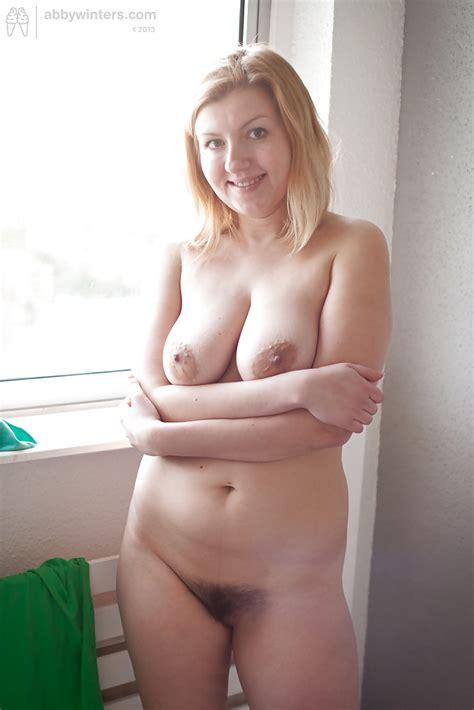 hairy chubby blonde