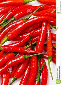 Red chili peppers stock photo. Image of objects, dieting ...