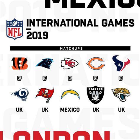 nfl teams set  london   regular season