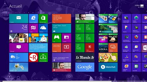 bureau windows 8 windows 8 le test
