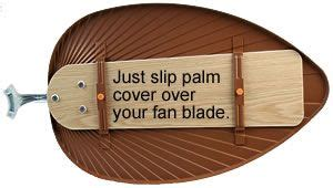 ceiling fan blade covers set of 5 brilliant i a palm ceiling fan blade what an easy