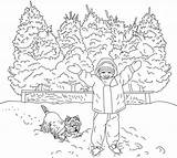 Coloring Winter Pages Adults Scene Adult Bestcoloringpagesforkids Printable Activity sketch template