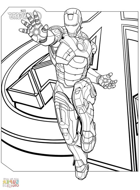 40 Avengers Coloring Pages To Print Printable Avengers