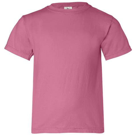 crunchberry comfort colors comfort colors 9018 youth garment dyed ringspun t shirt