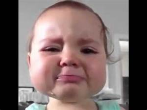 Cute baby crying - YouTube