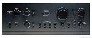 Sansui Au-717 - Manual - Stereo Integrated Amplifier