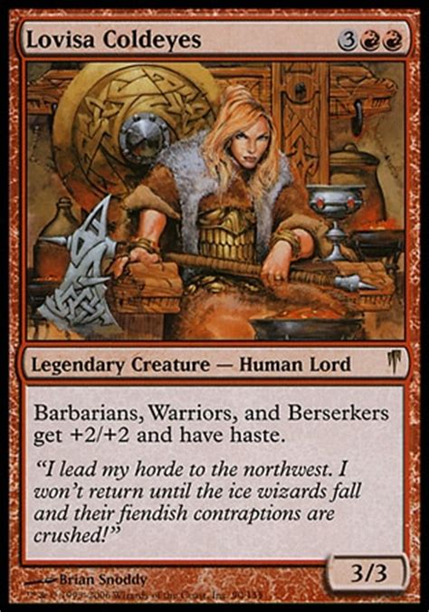 Edh Decks By Tier by Lovisa Coldeyes The Barbarian Multiplayer