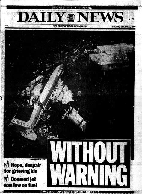 fuel  main   avianca flight  crash    york daily news