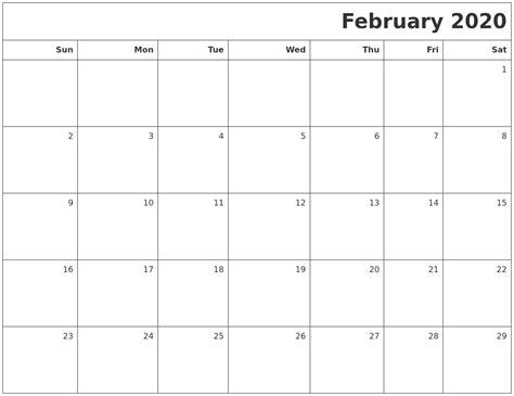 april word calendar