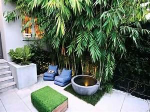 Small Space courtyard garden design ideas - YouTube