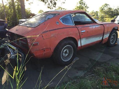 240z Datsun 1972 Complete Needs Full Restoration 260z