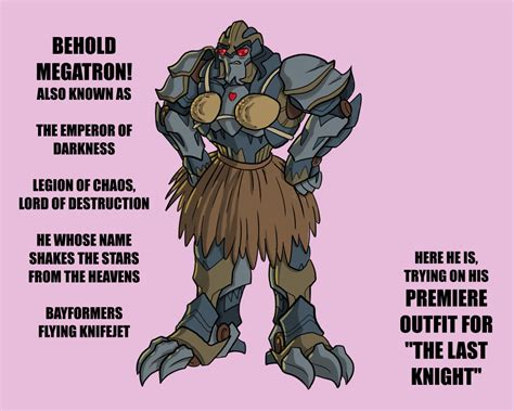 Megatron's Red Carpet Outfit For Tlk By Razziembessai On