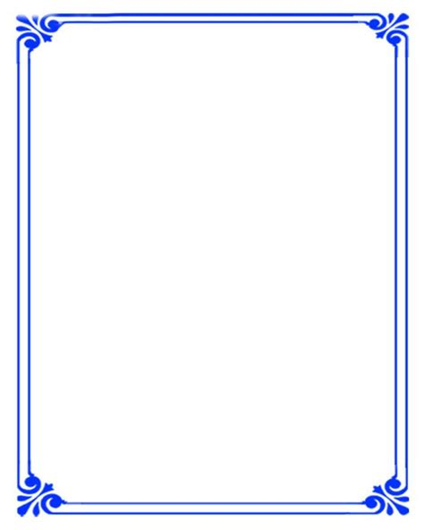 simple background blue border simple backgrounds page
