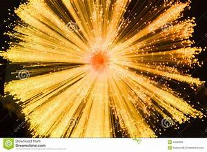 Linear Starburst In Gold And Black Stock Photo - Image ...