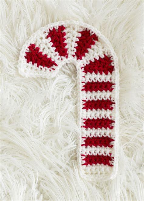 candy cane crochet hot pad favecraftscom
