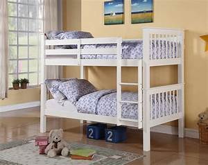 Solid, 3ft, Pine, Bunk, Beds