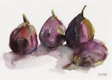 fig season fig season painting by beverly brown prints