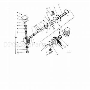 Hayter Condor  212n  Parts Diagram  Rotary Attachment 2