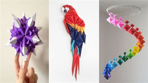 paper craft ideas for 10 diy paper crafts easy crafts ideas at home paper 7008