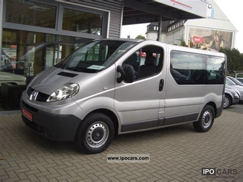 Renault Trafic 9 Seater by 2008 Renault Trafic 2 0 Dci 9 Seater Combi Passenger Car