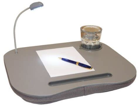Cushioned Desk With Light by New Laptop Desk Table With Light L Cushion By