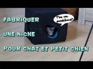 Niche Petit Chien : fabriquer niche pour chat ou petit chien youtube ~ Melissatoandfro.com Idées de Décoration