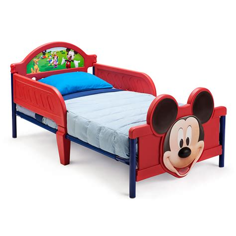 disney mickey 3d toddler bed
