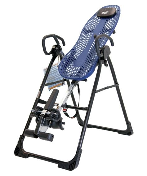 teeter inversion table instructional video teeter ep 950 inversion table with back pain relief dvd